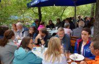 Mittagessen im Augustiner-Biergarten - gemütlich und empfehlenswert © G. Prantl / OVTP