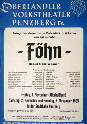 Föhn - Plakat