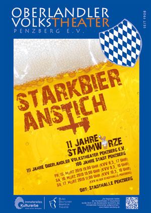 Starkbier 2019 Plakat Web