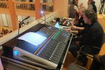 """Nichts geht bei einem Starkbier-Event ohne Ton- und Lichttechnik. Dank an Gery und Team von """"doubleUS"""" ©gp/ovtp"""