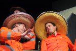 Zwei Bauhofmitarbeiter beim Lied. ©gp/ovtp