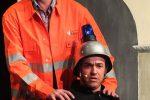 Wiggal und ein Bauhofmitarbeiter ©gp/ovtp