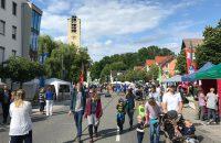 Bahnhofstraße zum Stadtfest