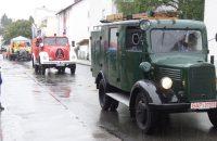 Die historischen Fahrzeuge der Feuerwehr © G. Prantl / OVTP